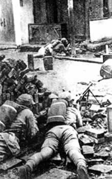 1942-1-2 China defeated the Japanese army in the third Changsha Battle