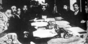 1912-1-3 The Sun Yat-sen led the national interim government