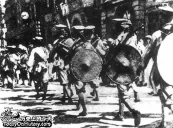 1927-1-3 National Government to recover Hankou British concession