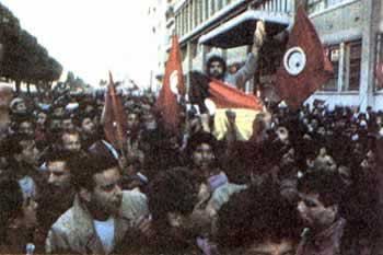 1984-1-3 Tunisia riots occurred because of food prices