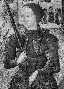 1412-1-6 The birth of French heroine Joan of Arc
