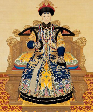 1698-1-6 The Qing emperors Yongzheng of filial piety San Constitution Queen was born