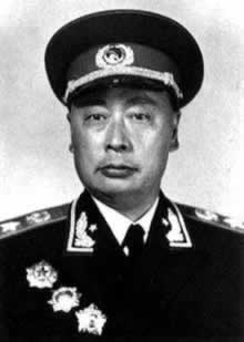Vice Chairman of the Central Military Commission, Republic of Marshal Chen Yi's death