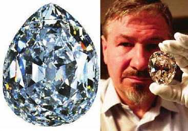 1905-1-8 The world's largest diamond found in South Africa