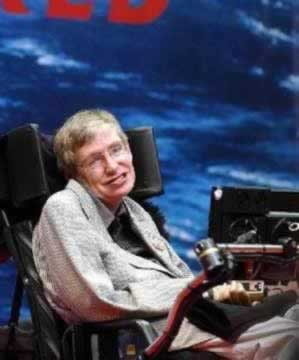 1942-1-8 Renowned physicist Stephen Hawking's Birthday