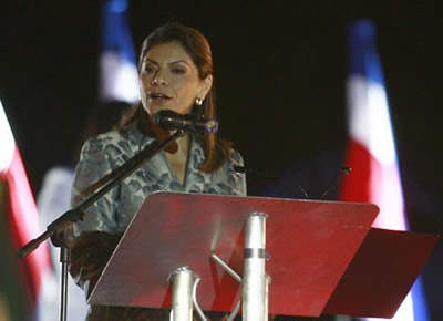 2010-1-8 Costa Rica elected the first female president in the history of