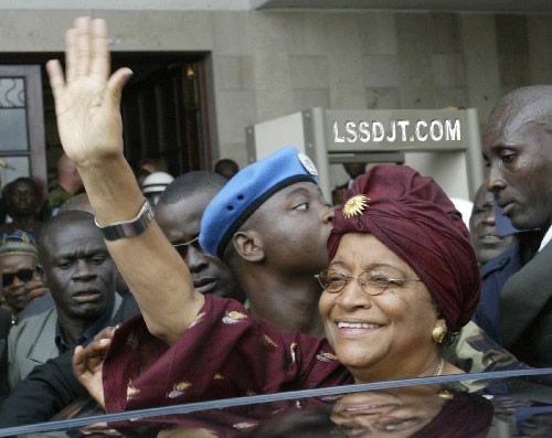 2006-1-16 The newly elected president of Liberia became the first woman to be elected president in the history of Africa