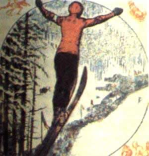 1924-1-25 The opening of the first Olympic Winter Games