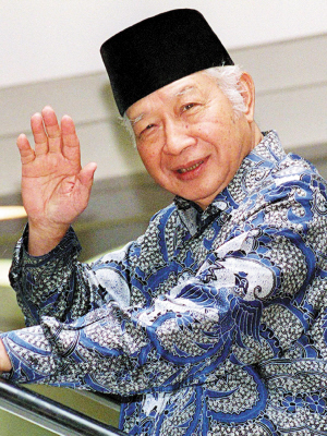2008-1-27 Former Indonesian President Suharto, 27, died 86 years
