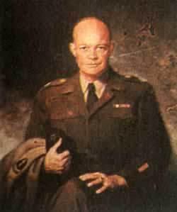 1944-1-16 U.S. General Dwight D. Eisenhower was appointed Allied Commander-in-Chief