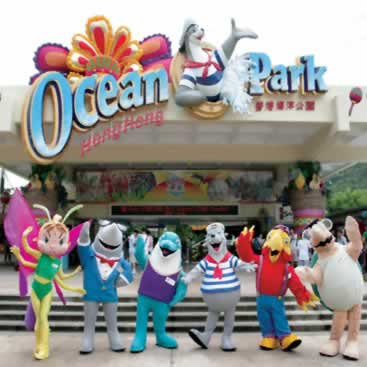 1977-1-15 The opening of the Hong Kong Ocean Park, was the largest marine theme park in the Far East