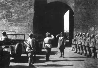Communist takeover of China in Peking