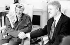 美巴首脑会谈——讨论挽救中东和平进程的问题