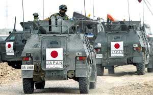 日本自卫队开始驻扎伊拉克