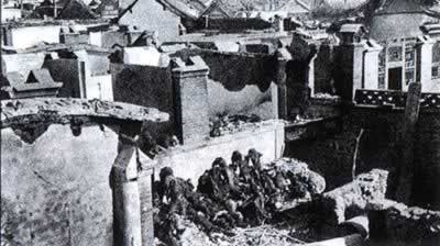 1941-1-25 The Japanese invaders Pan Jiayu tragedy, more than 1,200 victims