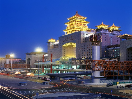 1996-1-21 Beijing West Railway Station, the opening and operation of