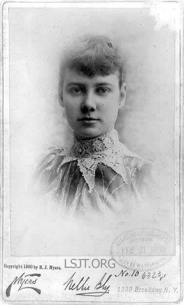 1890-1-25 Nina Bligh completed one week trip around the world