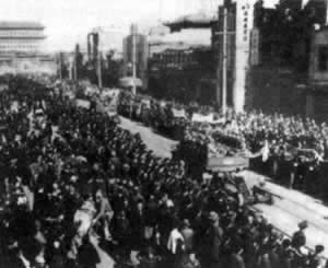 1949-1-31 The end of the Beiping-Tianjin Campaign, the peaceful liberation of Peking