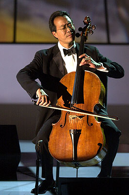 1955-10-6 Top international Chinese American cellist Yo-Yo Ma was born