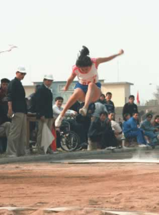 1984-10-6 China's first Paralympic Games opened in Hefei, Anhui