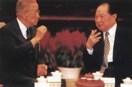 "1998-10-14 Koo Chen-fu began in the mainland's ""ice-melting trip"""