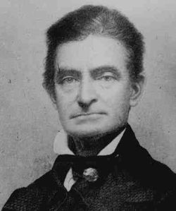 1859-10-16 American anti-slavery John Brown announced uprising