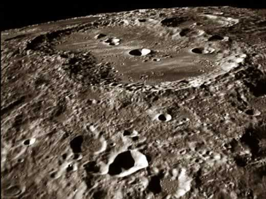 "1959-10-22 Rocket lunar exploration lunar new ""crater"""