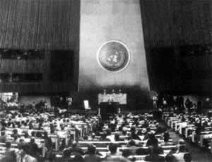 1945-10-24 The founding of the United Nations