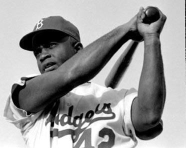 1972-10-24 The death of Jackie Robinson, the first black player in MLB history