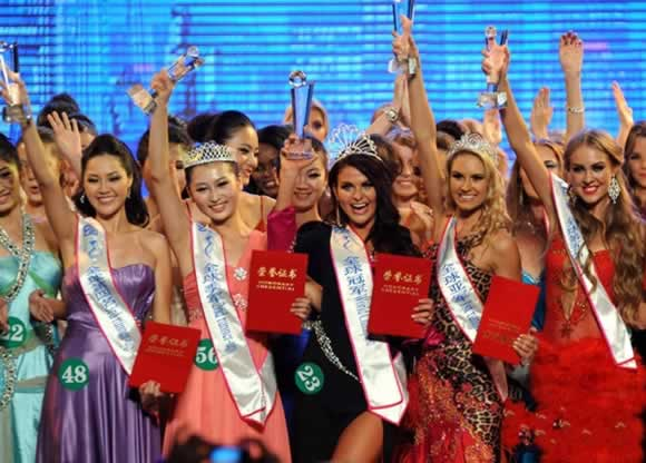 2010-10-24 The global ecological Miss Tourism World Finals ended in Nanjing