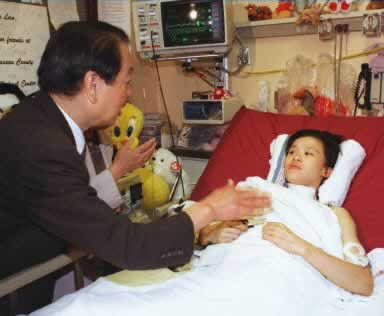 1998-10-30 Injured gymnast Sang Lan was discharged