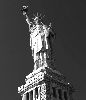 1886-10-28 France gave the United States the Statue of Liberty unveiled