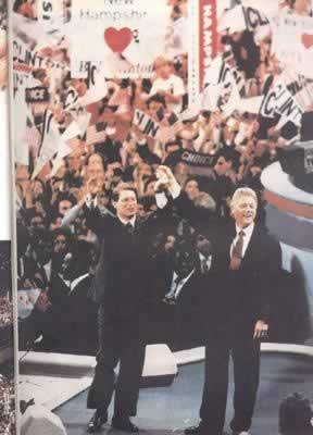 1992-11-3 Bill Clinton was elected President of the United States