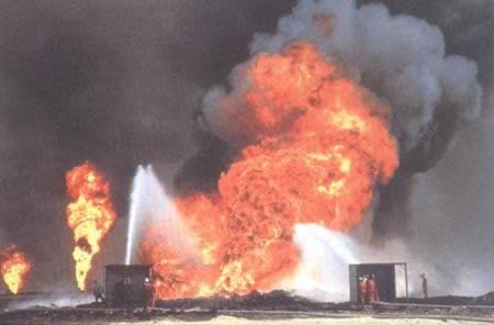 1991-11-6 Kuwait oil well fires were extinguished
