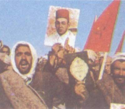 1975-11-9 Moroccans attempted takeover of the Sahara