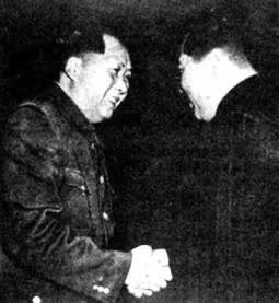 1953-11-12 Kim Il Sung, the North Korean government delegation led by to visit my country