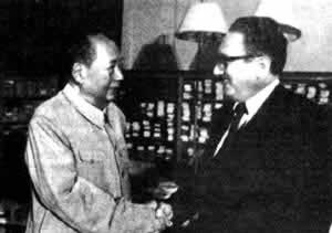 1973-11-12 Kissinger's sixth visit to China Mao Zedong met