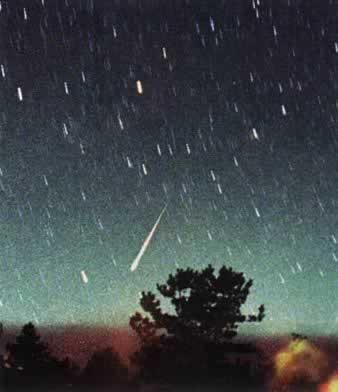 1998-11-18 Meteor shower and slip away from us