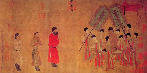 0673-11-14 Chinese Tang dynasty painter Yan Liben's death