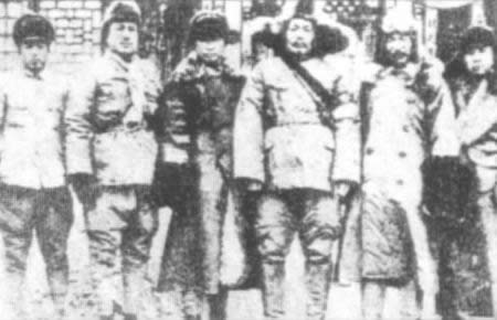1936-11-15 Fu Zuoyi Ministry pseudo fighting with Japan victory