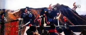 "1992-11-15 ""Stunt King blues drive over the Jinshanling Great Wall"
