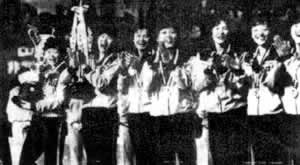 1981-11-16 Chinese women's volleyball team was world champion for the first time