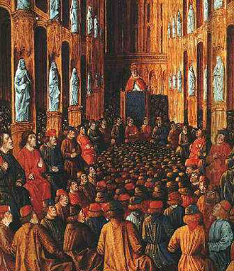 1095-11-18 Koehler Mans meeting, the Pope launched the Crusades