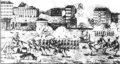 1831-11-21 The Lyon textile workers uprising