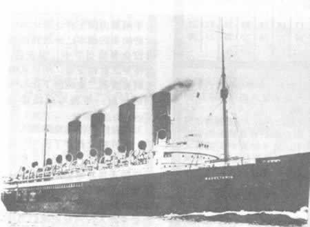 1907-11-21 Sister ship striving to cross the Atlantic record