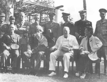 1943-11-22 In the Anglo-American leaders at the Cairo Conference