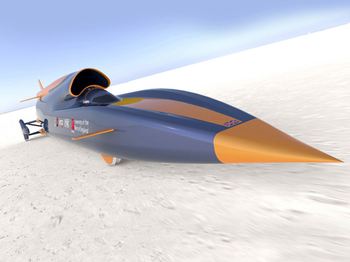 2009-11-25 British developed the world's fastest supersonic car