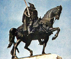 1443-11-28 Albanian national hero Skanderbeg revolted against the rule of the Ottoman Empire