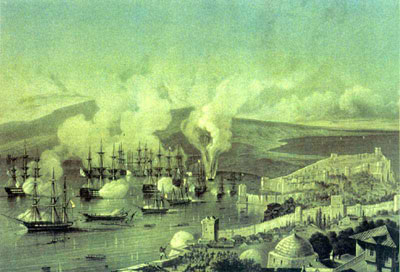 1864-11-30 Sinop naval battle broke out