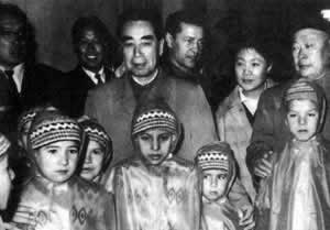 Premier Zhou Enlai visited 14 countries in Asia and Africa